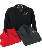 CORVETTE C6 1/4 ZIP ZIPPER SWEATSHIRT  BUDS CHEVROLET CORVETTE ST MARYS OH