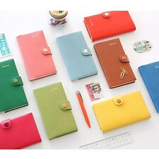 Rainbow Diary 2014 Dated Planner Daily journal monthly Journey schedule 9colors