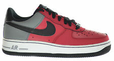 Nike Air Force 1 (GS) Big Kids Sneakers Red/Black-Cool Grey-White 314192-604