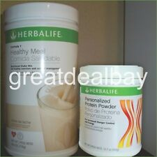 Herbalife Formula1 Nutritional Shake + Personalized Protein Powder ALL FLAVORS