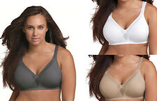 5 Pack Playtex 18 Hour Sleek & Smooth Wirefree Bras - Style 4803 - All Colors