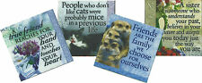 Canvas Magnets - Sentimental/Humourous Gifts - Beautiful Illustrations