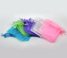 Wholesale Lots HOT Mixed Organza Wedding Gift Bags&Pouches 9x7cm