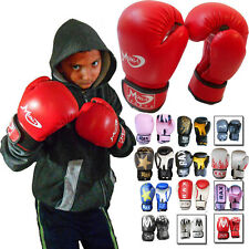 PUNCH JUNIOR BOXING SACCO MMA Sparring Allenamento Kick Boxing Guanti Kids 4 / 6/8 oz