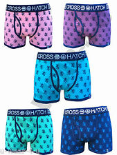 MENS CROSSHATCH LIONPRIDE BRIGHT COLOURED FITTED TRUNK BOXER SHORTS S,M,L,XL XXL