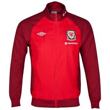 BNWT - Official Umbro Wales Tracksuit Jacket - Small Boys - Training / Pre Match