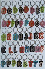 First Name initial letter B,C,D,E,F,G,H,J,K,L,N,P,R,S,T house/car key chain