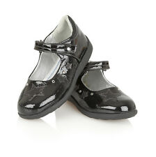 GIRLS KIDS CHILDRENS PATENT LEATHER INSOLE SCHOOL WEDDING SHOES PARTY SANDALS