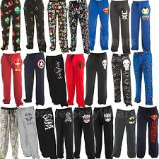 Men Teen Funko POP Heroes DC Comics Marvel Lounge Pajama Sleepwear Sweat Pants