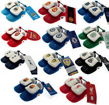 Official Premier League Football Club Baby Slippers Football Boots Booties Footw