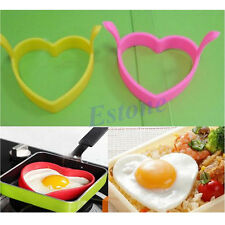 Kitchen Mould Tool Silicone Egg Fry Frier Fried Oven Pancake Poacher Poach Ring