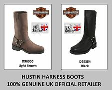 Harley Davidson Motorcycles Boots - Hustin Harness - Black D95354 / Brown D96000