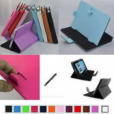 "Colorful Magic PU Leather Case+Stylus For 9"" Azpen A909/Supersonic SC-999 Tablet"