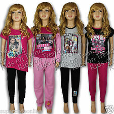 GIRLS Pyjamas Top & Bottoms Little Mix Joey Essex Monster High PJs NEW 5-13 Y
