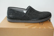Brand New UGG Mens Reefton Charcoal Casual Slip On Shoe Many Sizes