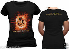 THE HUNGER GAMES Fire Mockingjay T Shirt Official Catching Fire Odds 9291