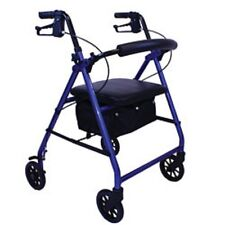 Roscoe Medical E-Series Rollator Lightweight Aluminum Rolling Walker