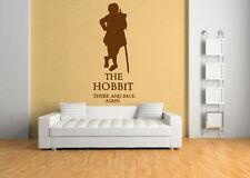 hobbit lord of the rings wall sticker/dvd/collectable wall sticker,book,film/art