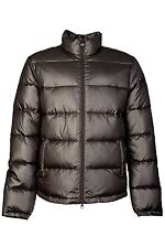 Ea7 by Emporio Armani Puffer Jacket Coat in Black and Navy Blue 2713583A340