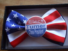 10 School Election campaign buttons Persoalized customized on Ties & Suspenders