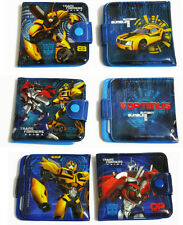 Transformers Optimus Prime Bumblebee Blue Bifold Wallet Purse