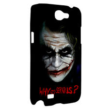 NEW Samsung Galaxy Note 2 3 N9005 Hard Shell Case Cover Why So Serious Joker