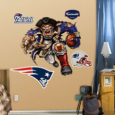 New England Patriots Fathead -Choice:Grinding it out Mural or Powerhouse Patriot