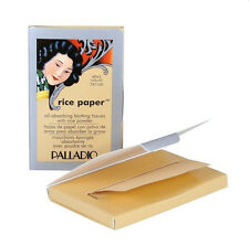 Palladio Rice Paper Oil Absorbing Facial Tissues - 40 sheets