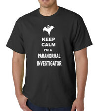 KEEP CALM I'M A PARANORMAL INVESTIGATOR GHOST HUNTER VARIOUS COLOURS AND SIZES