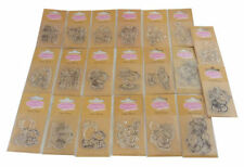 Set of 20 Fizzy Moon Everyday Clear Stamps + FREE ACRYLIC STAMPING BLOCK