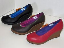New Crocs Women's A-leigh Closed-toe Wedge Shoes Size 5.5 6 6.5 7 7.5 8 8.5 9