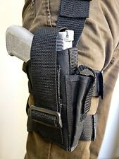 S&W 3904, 3906 | Tactical Drop Leg Holster with Mag Pouch. MADE IN USA!