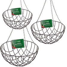 "12"" 14"" 16"" HANGING BASKETS with chains, buy up to 6 in any size. Big discounts"