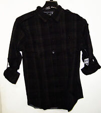 "FOX RACING ESTABAN MENS CHECKERED LONG SLEEVE SHIRT NEW ""U PICK SIZE"""