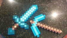 Minecraft Inspired wooden diamond sword and/or pick axe