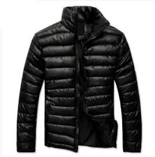 Men's 100 % Lamb Leather Beautiful Quilted Jacket !