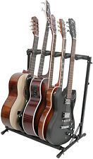 PROFESSIONAL MULTI GUITAR RACK STAND HEAVY DUTY 3,5,7 ELECTRIC & ACOUSTIC GUITAR