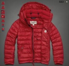 New Abercrombie Fitch AF Winter 2014 Mens MacIntyre Bridge Puffer Jacket Coat
