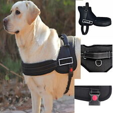 Control Dog Harness M L XL  Black Camo Red- Support Comfy Pet Training Adjust