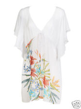 Lepel Floral Kaftan~Tropical Fever ~ White Sizes ~ Small ~ Medium ~ Large ~ BNWT