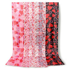 Valentines Day Heart Scarf 60 x 12 inches Accessory Decoration Darice Pink Red