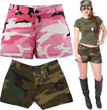 Women Military Short Shorts Camouflage Army Casual Lounging Shorts
