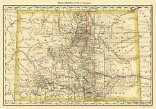 COLORADO (CO) BY RAND MCNALLY AND CO. 1879