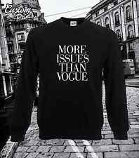 MORE ISSUES THAN VOGUE SUPREME NEW TEE TOP COMME DES F***DOWN GEEK HYPE TUMBLR