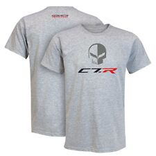 2014 C7R JAKE CORVETTE RACING TSHIRT BLACK/GRAY/WHITE BUDS CHEVROLET ST MARYS O