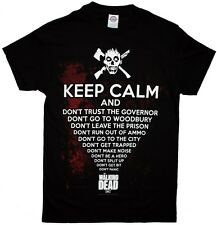 The Walking Dead Keep Calm And... Zombie Officially Licensed AMC Adult T-shirt