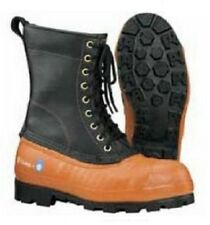 New Oregon 537501 Safety CHAINSAW FORESTRY BOOTS Leather Top - Lug Sole
