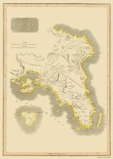 Old Greece Map - Attica Region - Thomson 1815 - 23 x 32.36