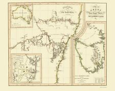 AUSTRALIA & TASMANIA (NEW SOUTH WALES/VAN DIEMEN'S LAND) THOMSON 1821