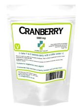 Cranberry 5000mg tablets healthy bladder urinary tract  Lindens Men's Health